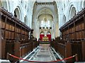 SX7467 : The Choir, Buckfast Abbey church by Derek Voller
