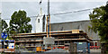 J4173 : New church hall, St Elizabeth's, Dundonald - June 2014(1) by Albert Bridge