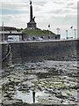 SN5781 : War Memorial, Aberystwyth, Ceredigion by Christine Matthews