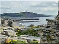 SN5781 : Remains of Castle, Aberystwyth, Ceredigion by Christine Matthews