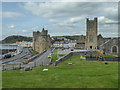 SN5881 : Church and University from the Castle, Aberystwyth, Ceredigion by Christine Matthews
