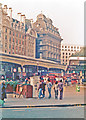 TQ2879 : Victoria Station: entrance to Central Section and Grosvenor Hotel, 1985 by Ben Brooksbank
