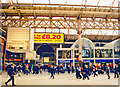 TQ2879 : Victoria Station, Central Section concourse towards Eastern Section 1999 by Ben Brooksbank