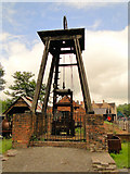 SJ6903 : Pithead, Blists Hill by Philip Pankhurst