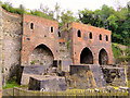 SJ6903 : Early blast furnace, Blists Hill by Philip Pankhurst