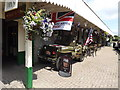 SH5639 : US army jeep at Porthmadog by Richard Hoare