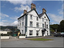 SH5639 : Queens Hotel Porthmadog by Richard Hoare