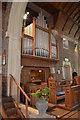 TQ7808 : Organ, St Ethelburga's church, St Leonards on Sea by Julian P Guffogg