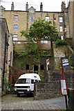 SD9927 : Houses spilling down the valley side, Nutclough, Hebden Bridge by Christopher Hilton