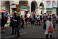 TQ2980 : Regent Street Bus Cavalcade - 2014 by Peter Trimming