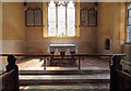 TG4612 : St Mary, Thrigby - Sanctuary by John Salmon