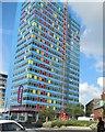 SK5904 : Premier Inn, Leicester by Paul Gillett