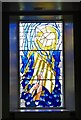 NX9718 : Millennium stained glass window, St James' Church by Julian Osley