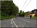 SU3715 : Yew Tree Lane, Hillyfields by Adrian Cable