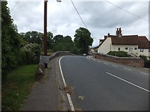 TL8422 : Long Bridge over Back Ditch, Coggeshall by David Smith