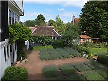 TL8422 : Part of the garden of Paycockes House, Coggeshall by David Smith