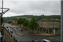 SE0925 : Halifax: Charles Street from the car park of the Woolshops shopping centre by Christopher Hilton