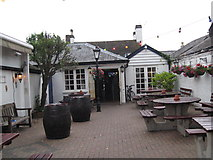 SU4208 : Nobody outdoors at the Lord Nelson-Hythe, Southampton, Hants by Martin Richard Phelan