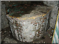 TG1527 : Rare pillbox - interior by Evelyn Simak