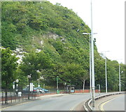 TR3241 : Townwall Street, the A20, Dover by Ian S