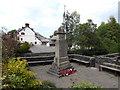 SH7863 : War memorial at Trefriw (2) by Richard Hoare