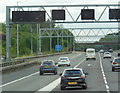 TL1302 : The M25 eastbound near junction 21A by Ian S