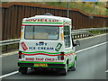 TL1302 : Ice Cream Van on the M25 by Ian S