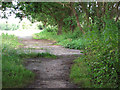 TM4077 : Footpath to the B1124 (Beccles Road) by Evelyn Simak