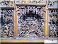 SD8530 : Altarpiece Detail, Towneley Hall Chapel by David Dixon
