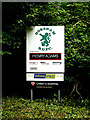 TQ1929 : Horsham Rugby Union Football Club sign by Adrian Cable