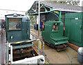 SU4208 : Hythe Pier Railway locomotives by Alan Murray-Rust