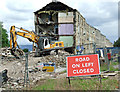 NS3274 : Bouverie Demolition by Thomas Nugent