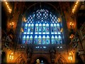 SJ8398 : Biblical Window, John Rylands Library by David Dixon