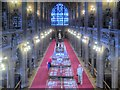 SJ8398 : John Rylands Library, Historic Reading Room by David Dixon