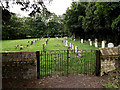 TM3761 : Churchyard of St.Mary's Church, Benhall by Adrian Cable