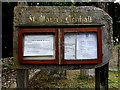 TM3761 : St.Mary's Church Notice Board by Geographer