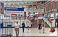 TQ3179 : Waterloo Station concourse, 1991 by Ben Brooksbank