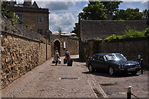 SP5105 : Oxford : Small Lane by Lewis Clarke