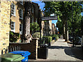 TQ3276 : Churchyard Passage meets Camberwell Grove by Robin Stott
