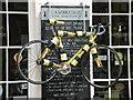 TL4458 : The Tour de France is coming past Cambridge Wine Merchants by Keith Edkins