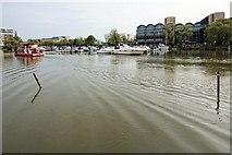 SK9771 : Brayford Pool, Lincoln by Dave Hitchborne