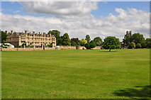 SP5105 : Oxford : Merton Field by Lewis Clarke