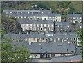 SH7045 : Terraced houses, Blaenau Ffestiniog by Andrew Hill