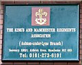 SJ9398 : The King's and Manchester Regiments Association (Ashton-under-Lyne Branch) by Gerald England
