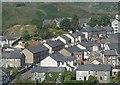 SH7045 : A residential part of Blaenau Ffestiniog by Andrew Hill