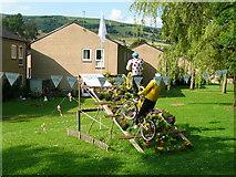 SE0125 : Tour de France display at Elphaborough Close by Humphrey Bolton