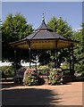 TL9925 : Bandstand, Castle Park, Colchester by Julian Osley