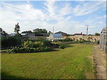 TQ4312 : Garden in Ringmer Park by Paul Gillett