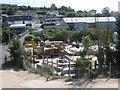 SX9272 : Builders' merchant, Broadmeadow industrial estate, Teignmouth by Robin Stott