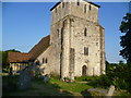 TR0233 : The west tower of St Paul's Church, Ruckinge by Marathon